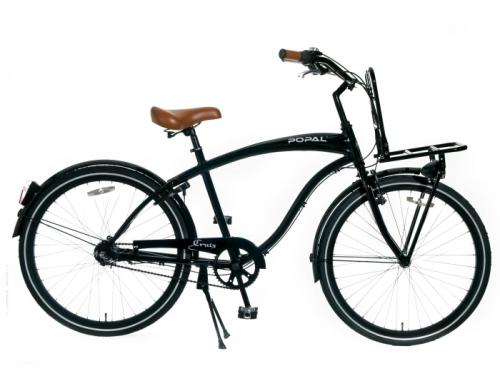 popal hawk 3 gang beach cruiser schwarz herren fahrrad fahrrad ass. Black Bedroom Furniture Sets. Home Design Ideas