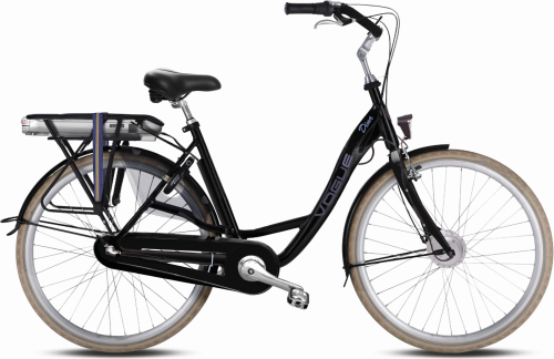 Vogue Dina schwarz 7 Gang Pedelec (E-Bike)