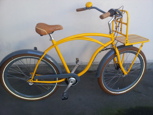 Herren Fun Cruiser Beachcruiser handgemacht in Deutschland - fahrrad-Ass.de