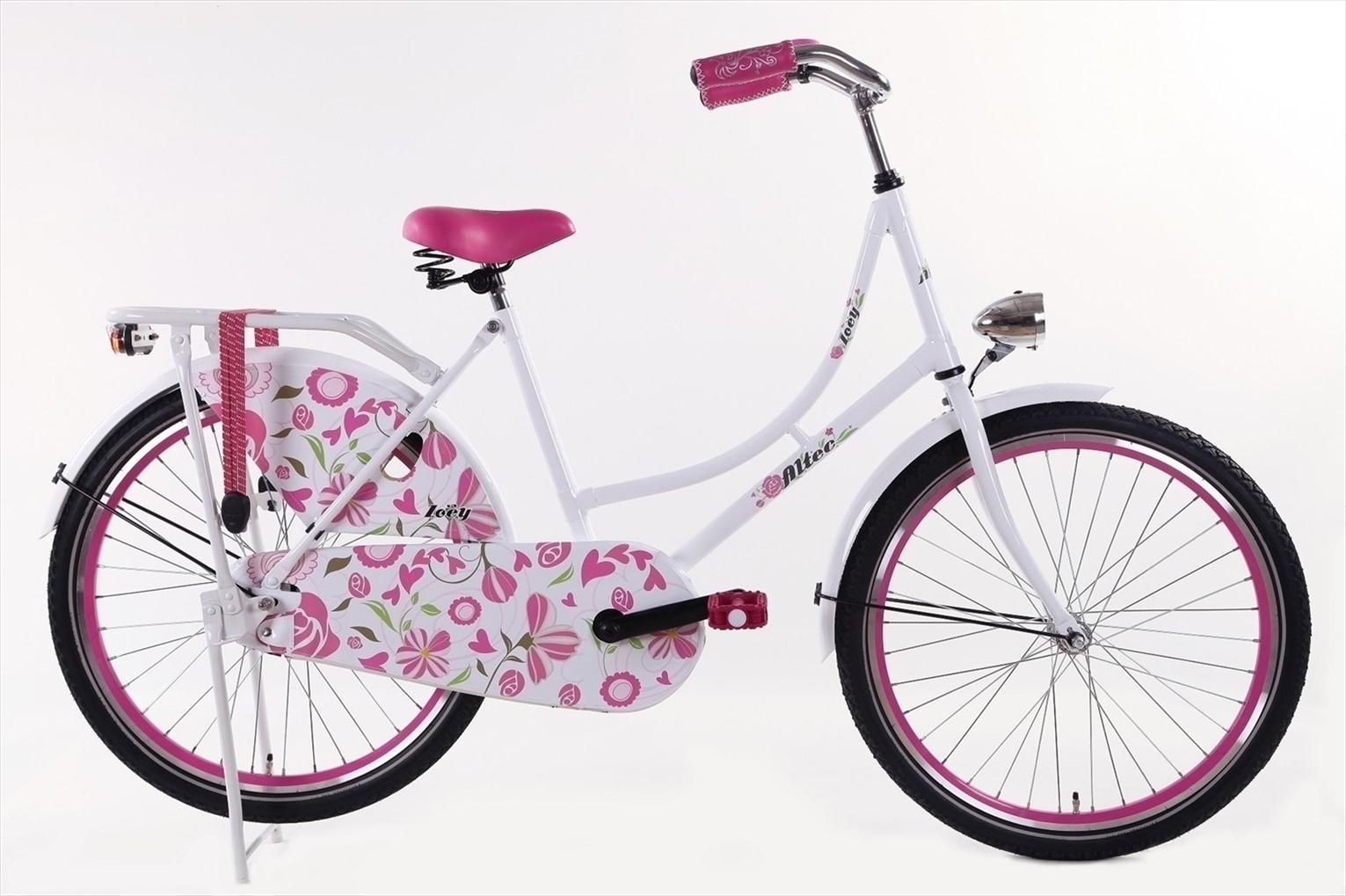 26 zoll hollandrad zoey wei rosa d fahrrad ass. Black Bedroom Furniture Sets. Home Design Ideas