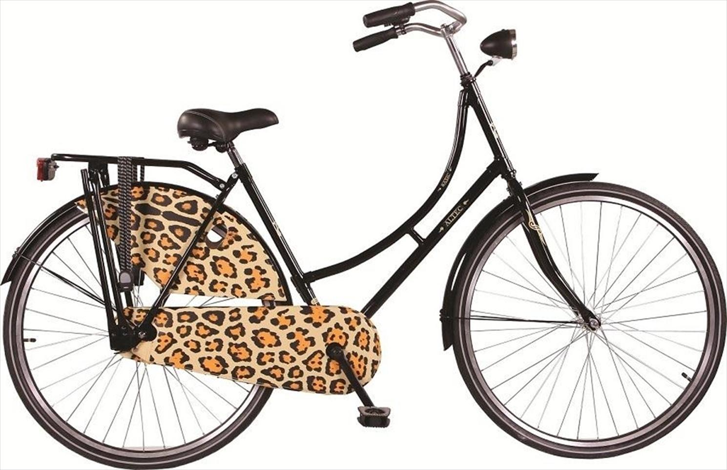 28 zoll hollandrad basic schwarz leopard d fahrrad ass. Black Bedroom Furniture Sets. Home Design Ideas