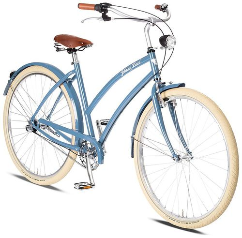 Johnny Loco 3-Gang Venice Damen blau - fahrrad-Ass.de