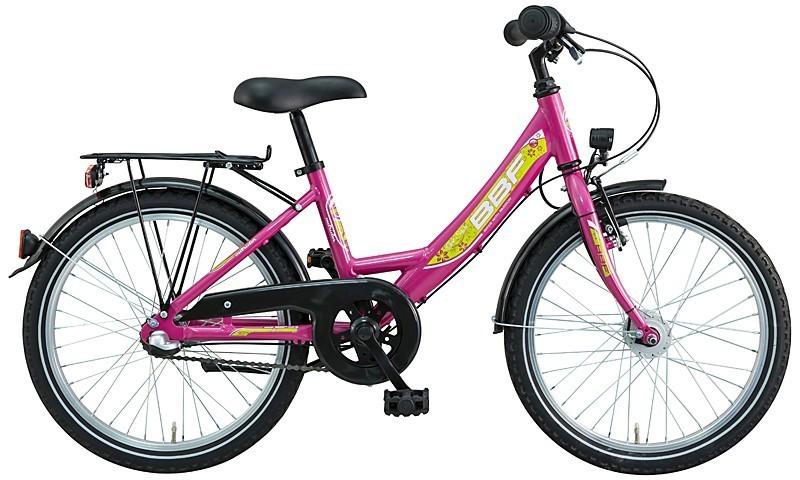 24 zoll kinderfahrrad bbf outrider 7 gang m dchen pink fahrrad ass. Black Bedroom Furniture Sets. Home Design Ideas