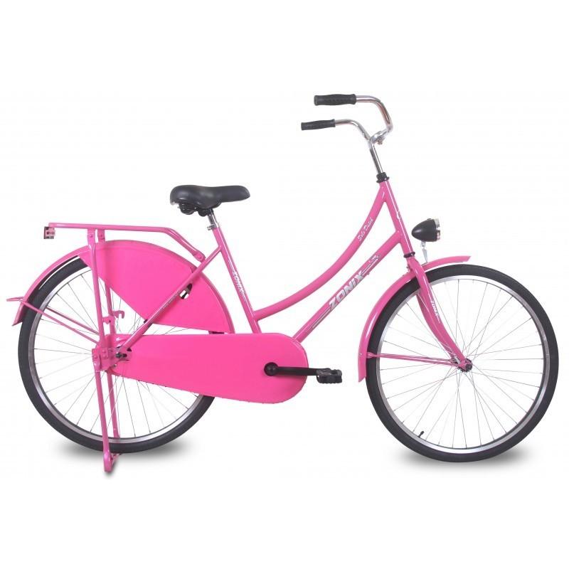 26 zoll hollandrad zonix solo rosa fahrrad ass. Black Bedroom Furniture Sets. Home Design Ideas