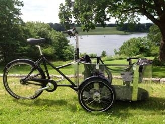 Nihola Elektro 40 Kinder Transportrad Handmade In Kopenhagen