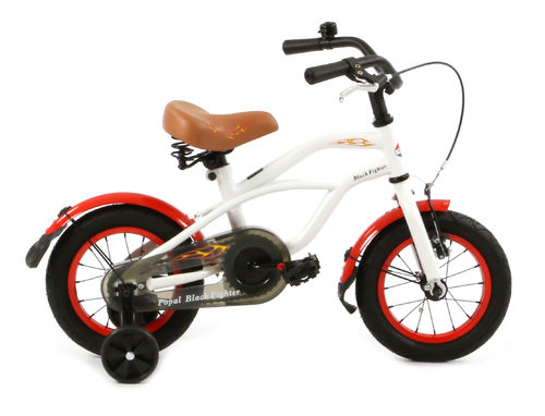 12 Zoll Cruiser White Fighter - fahrrad-Ass.de