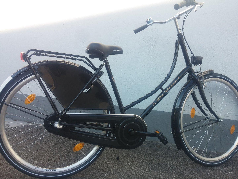 26 zoll hollandrad godewind 3 gang schwarz fahrrad ass. Black Bedroom Furniture Sets. Home Design Ideas