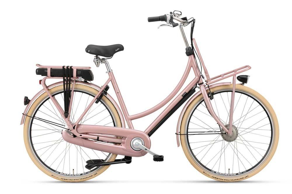 sonderangebot batavus 55cm x posure e go new rose 7 gang hollandrad pedelec e bike fahrrad ass. Black Bedroom Furniture Sets. Home Design Ideas