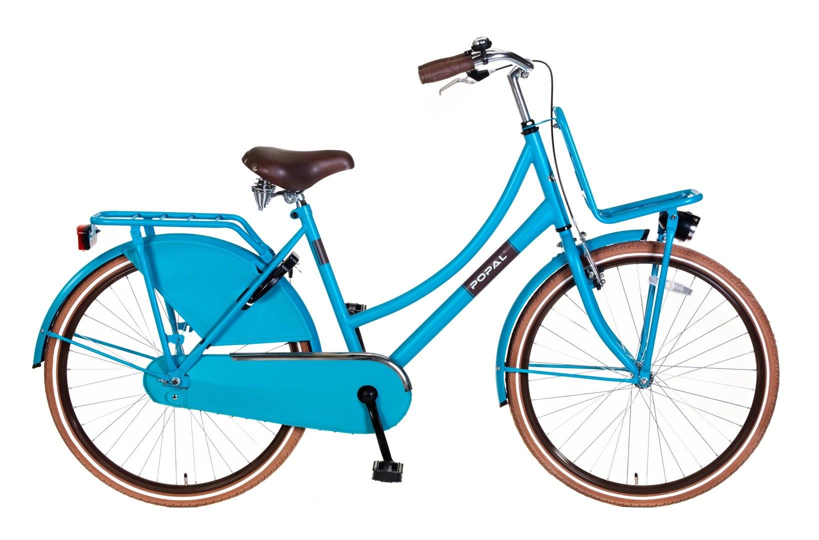 26 zoll hollandrad urban blau mit frontr ger fahrrad ass. Black Bedroom Furniture Sets. Home Design Ideas