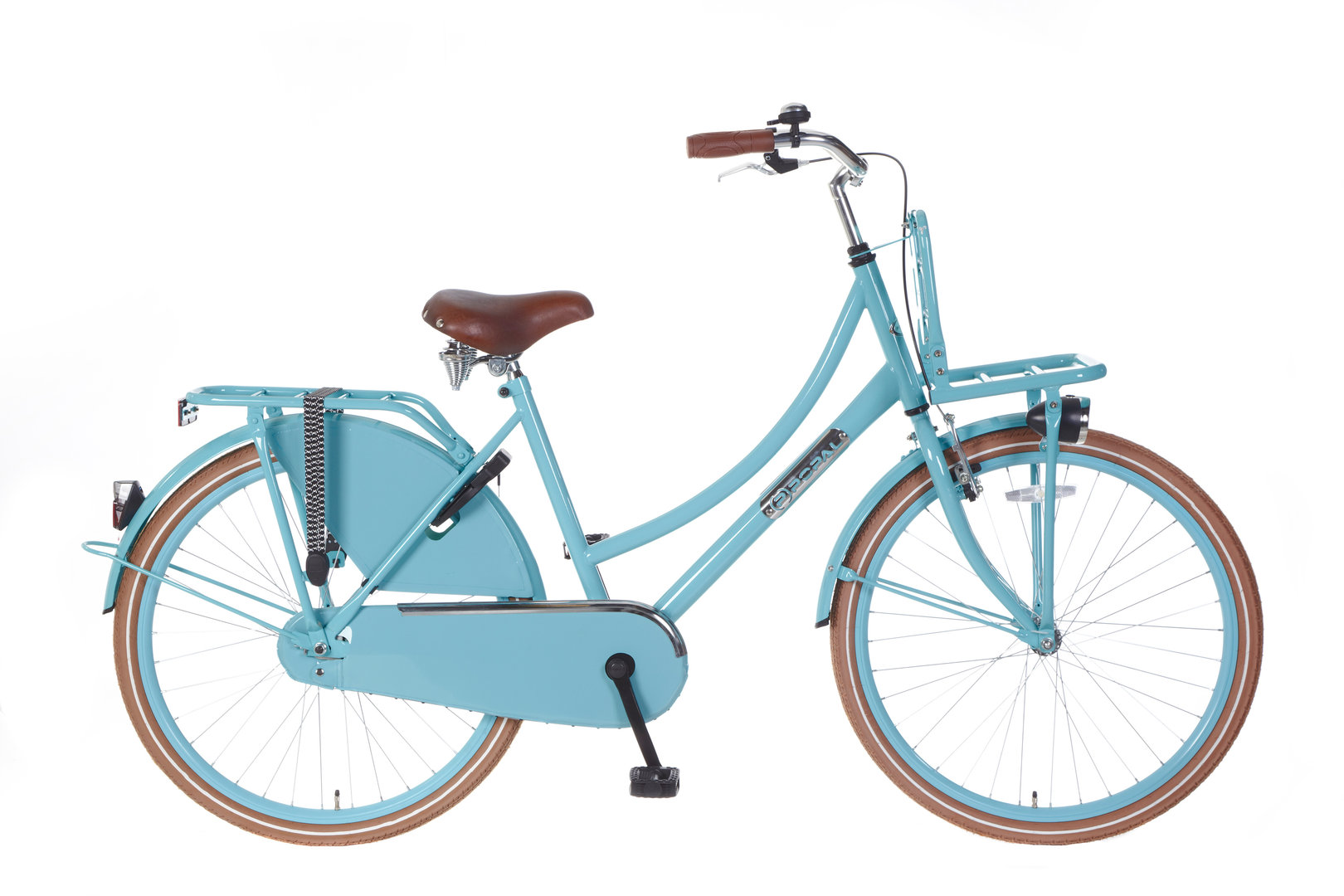 26 zoll hollandrad daily dutch t rkis mit fronttr ger fahrrad ass. Black Bedroom Furniture Sets. Home Design Ideas