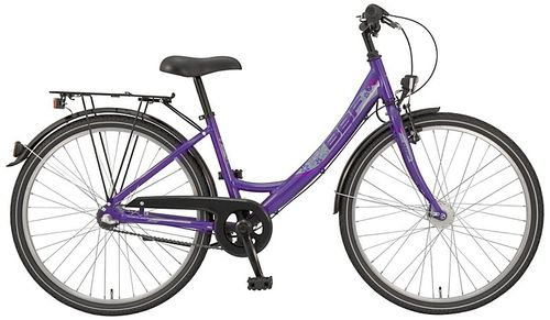 "26"" Damen City BBF Outrider 3 Shimano Nexus Nabendynamo purple"