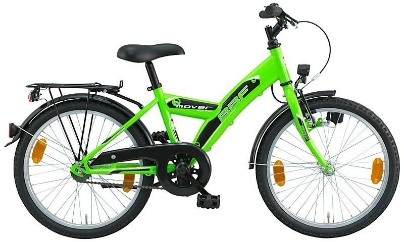 20 zoll kinderfahrrad bbf mover jungen gr n fahrrad ass. Black Bedroom Furniture Sets. Home Design Ideas