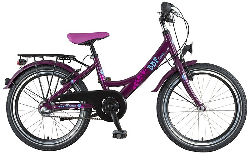 20 zoll aluminium kinderfahrrad bbf cove 3 gang m dchen violett pink fahrrad ass. Black Bedroom Furniture Sets. Home Design Ideas
