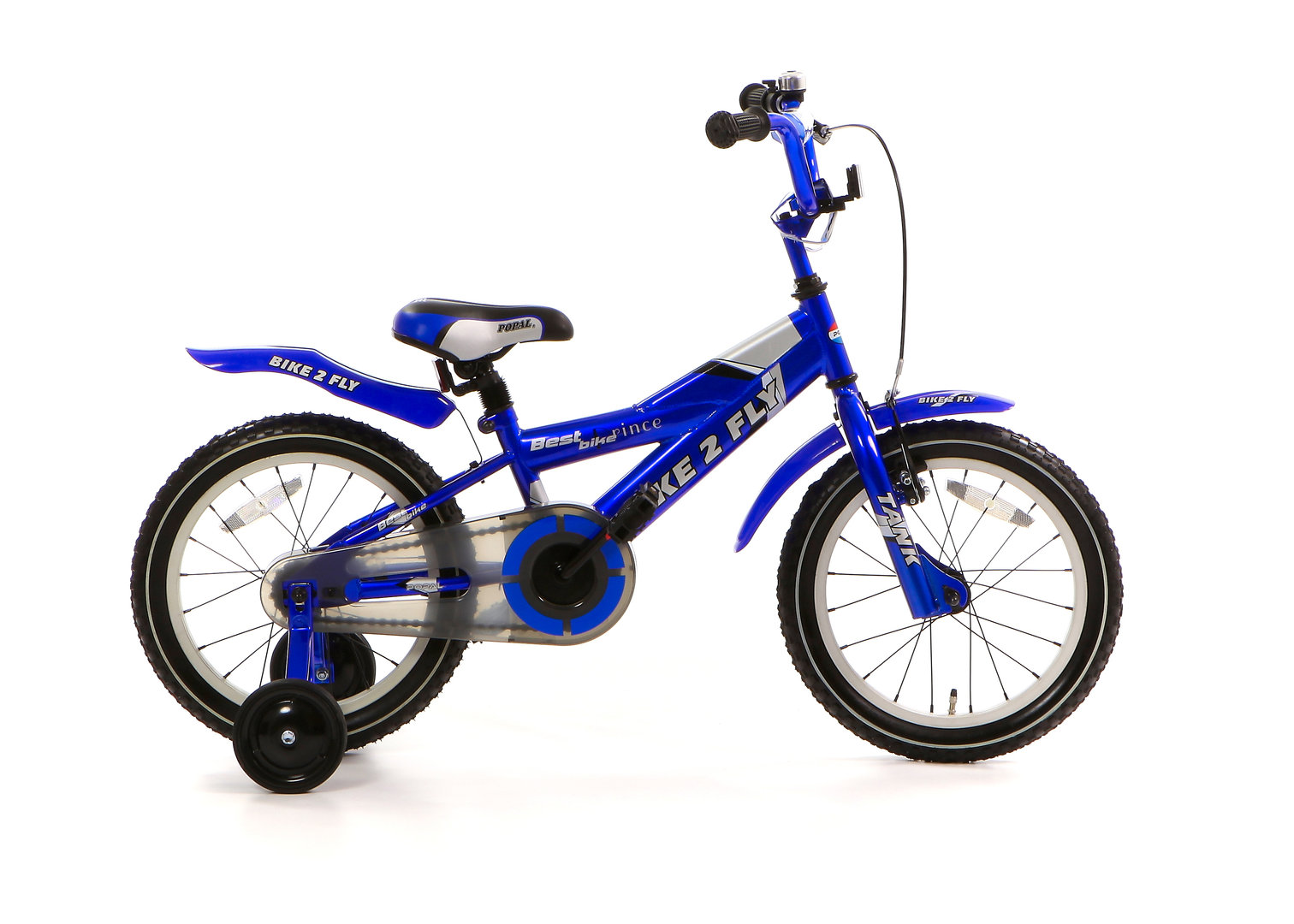 16 zoll kinderfahrrad bike 2 fly blau fahrrad. Black Bedroom Furniture Sets. Home Design Ideas