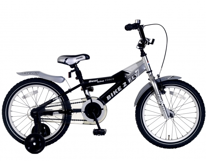 18 zoll kinderfahrrad bike 2 fly schwarz fahrrad. Black Bedroom Furniture Sets. Home Design Ideas