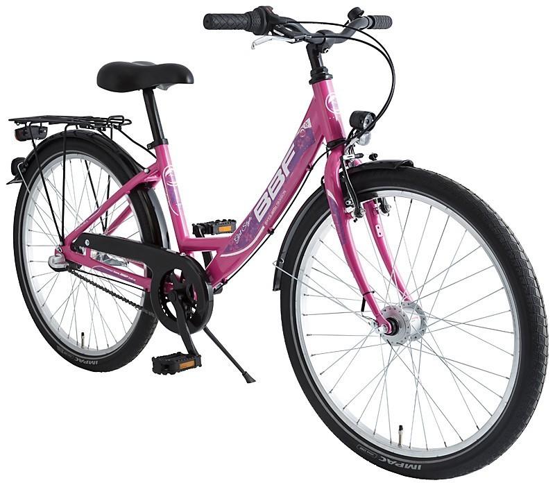 24 zoll kinderfahrrad bbf outrider 7 gang m dchen rosa fahrrad ass. Black Bedroom Furniture Sets. Home Design Ideas