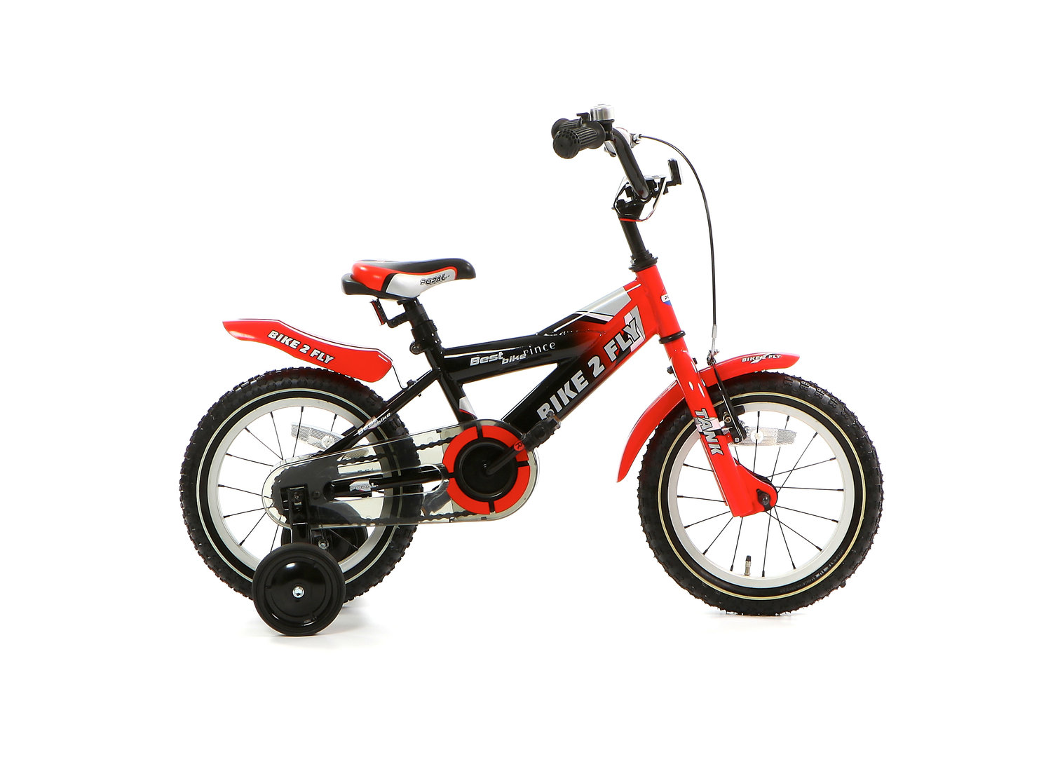 14 zoll kinderfahrrad bike 2 fly rot fahrrad. Black Bedroom Furniture Sets. Home Design Ideas