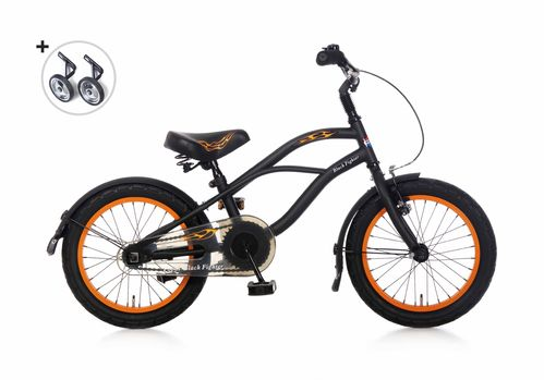 16 Zoll Cruiser Black Fighter - fahrrad-Ass.de