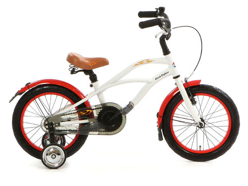 16 Zoll Cruiser White Fighter - fahrrad-Ass.de