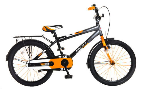 20 Zoll Kinderrad, Jungenrad, ATB, Mike, anthrazit-orange