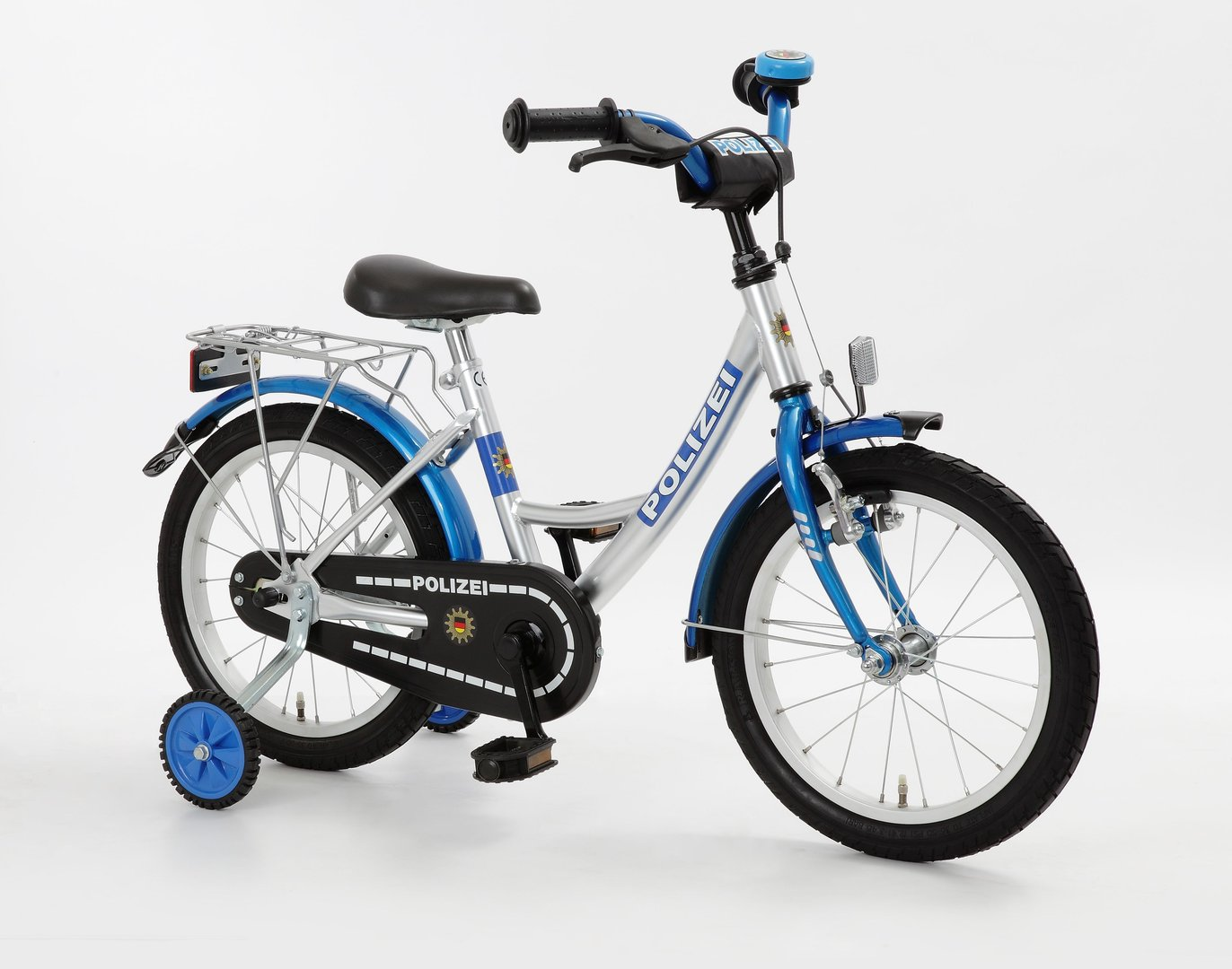 18 zoll kinderfahrrad polizei fahrrad fahrrad ass. Black Bedroom Furniture Sets. Home Design Ideas