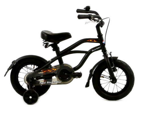12 Zoll Cruiser Black Fighter - fahrrad-Ass.de