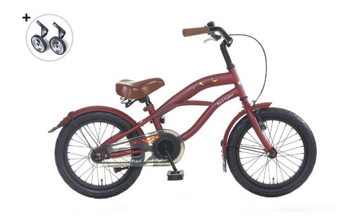 16 Zoll Cruiser Red Fighter - fahrrad-Ass.de