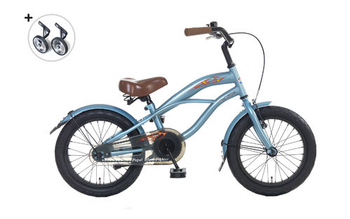 16 Zoll Cruiser Blue Fighter - fahrrad-Ass.de