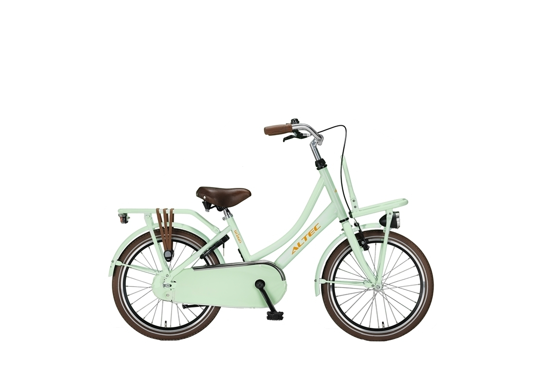 20 zoll hollandrad urban mint green mit fronttr ger d fahrrad ass. Black Bedroom Furniture Sets. Home Design Ideas