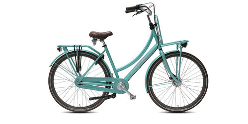 Frühlingsangebot - Vogue Elite Plus 28 Zoll Aluminium 8 Gang Freilauf Hollandrad mint green