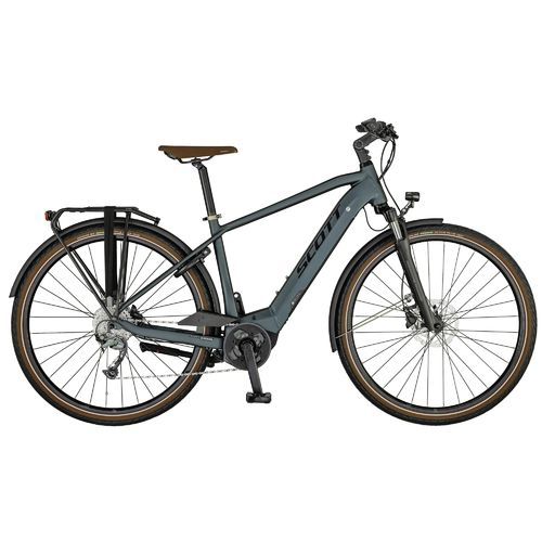 Scott Sub Active eRIDE Men 2021 Shimano Acera 9 speed black Bosch Mittelmotor Pedelec hydr. disc