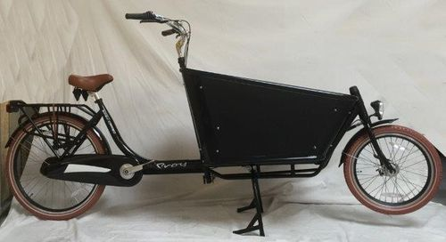 Troy Easy Cargo 2-Rad bakfiets 3 Gang Shimano