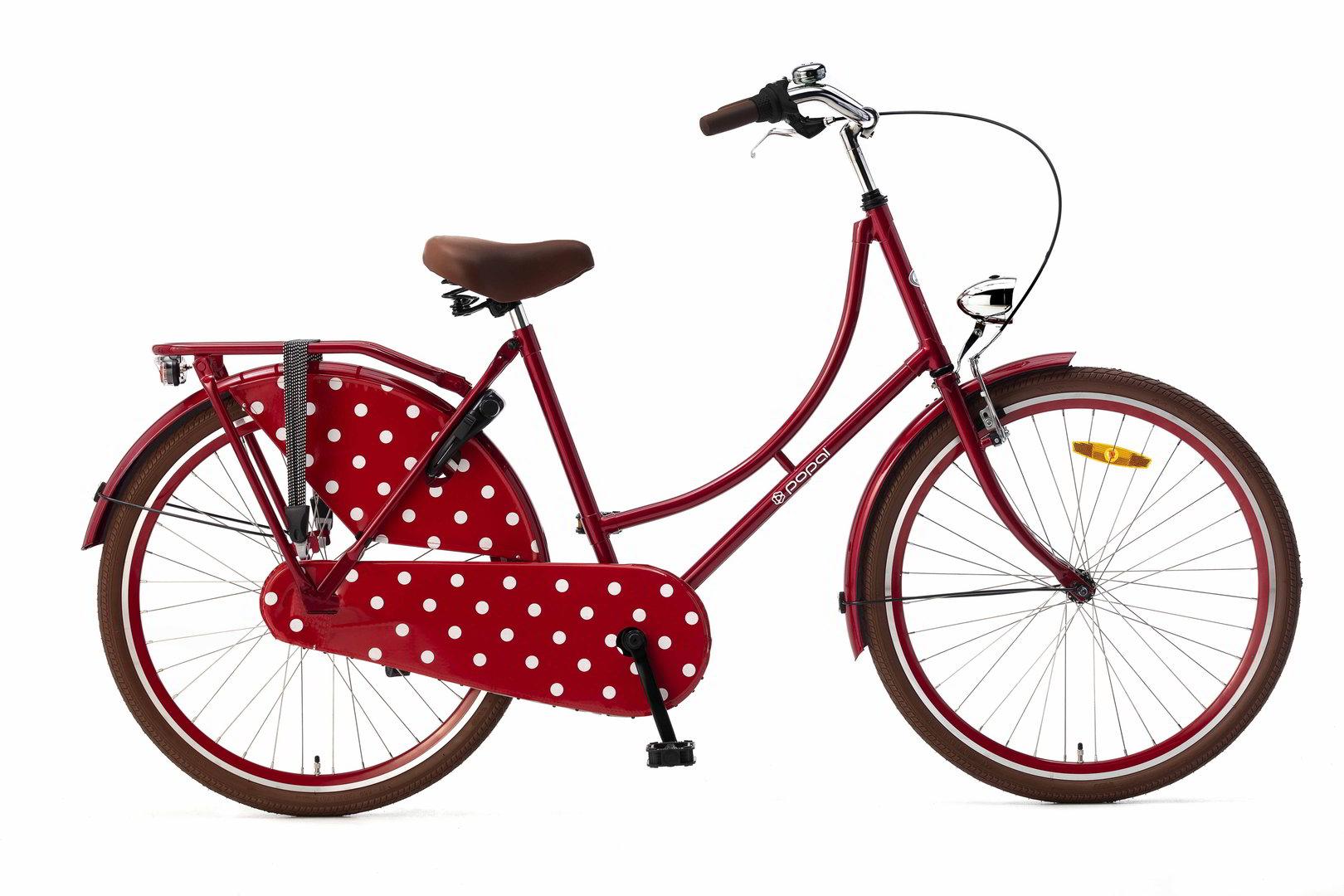 26 zoll hollandrad rot fahrrad ass. Black Bedroom Furniture Sets. Home Design Ideas