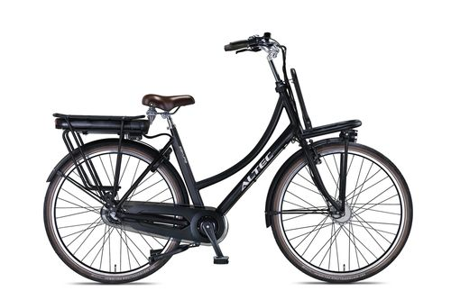 518 Wh Aluminium Hollandrad Transportrad Pedelec Altec Sakura matt schwarz 3 Gang (E-Bike) d