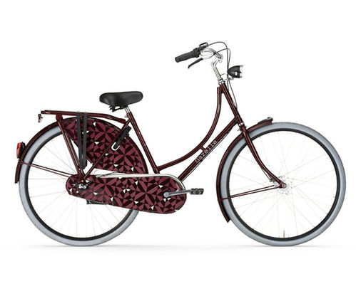 Gazelle Classic 3 Gang Trommelbremse pepper - red