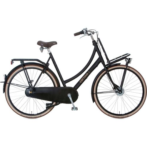 Cortina U4 Denim 8 Gang Shimano Nexus Freilauf! Jet Black Matt