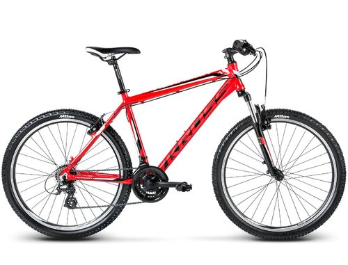 Kross Hexagon X2 2017 red/black/white matt 21 Shimano