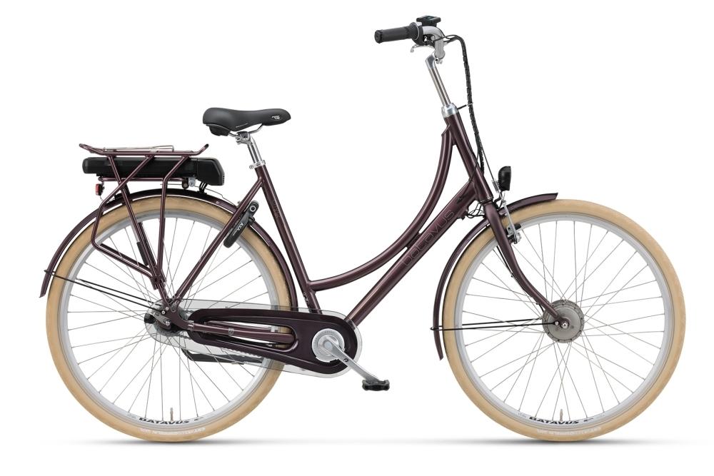 batavus diva e go aubergine 7 gang hollandrad pedelec e bike fahrrad ass. Black Bedroom Furniture Sets. Home Design Ideas