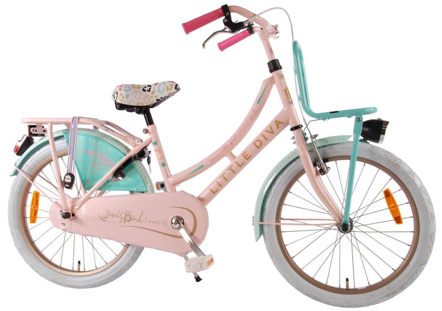 little diva 20 hollandrad fahrrad ass. Black Bedroom Furniture Sets. Home Design Ideas