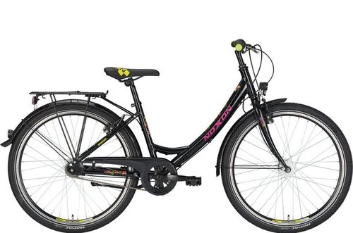 "26"" Damen City Noxon Breeze 3 Gang Shimano Nexus Nabendynamo schwarz"