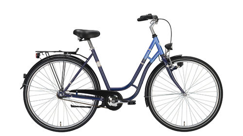 "28"" Damen City - 3 Gang Tourenrad Excelsior Touring opalblau"