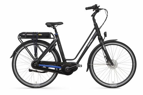 E-Volution 10.0 8 Gang Shimano Nexus Mittelmotor Pedelec (E-Bike) schwarz