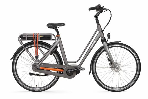 E-Volution 10.0 8 Gang Shimano Nexus Mittelmotor Pedelec (E-Bike) space grey