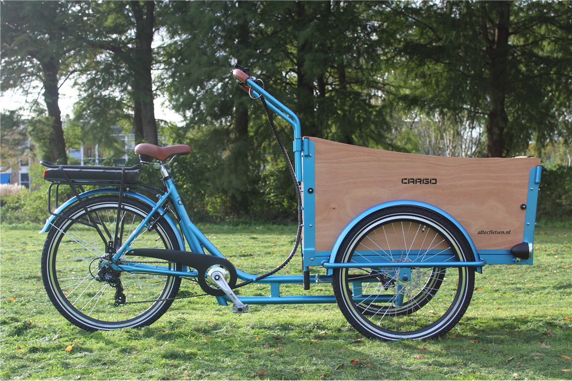 e cargo altec q1 10 5 ah 375 wh bakfiets 6 gang shimano. Black Bedroom Furniture Sets. Home Design Ideas
