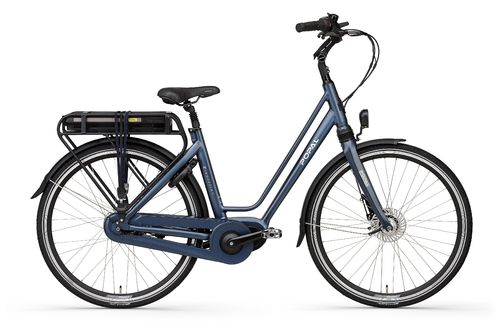E-Volution 10.0 8 Gang Shimano Nexus Mittelmotor Pedelec (E-Bike) blue