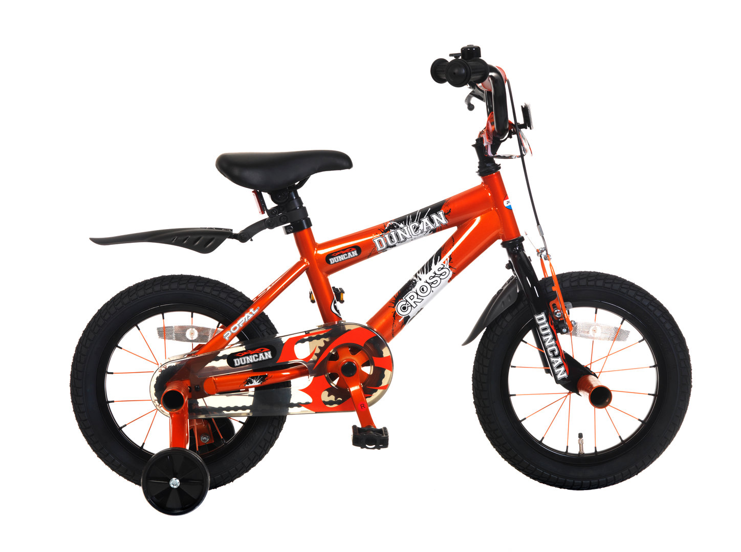 12 zoll kinderfahrrad bmx duncan orange fahrrad. Black Bedroom Furniture Sets. Home Design Ideas