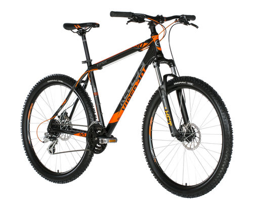 "26"" Kellys Viper 30 Black Orange 2018 24 Gang Shimano Scheibenbremse"