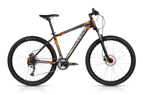 "27,5"" MTB Kellys Spider 30 Dark Orange 2018 24 Gang Shimano, Lock Out Gabel und hydr. Scheibenbremse"