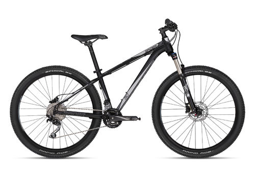 "27,5"" MTB Kellys Spider 90 Black  20 Gang Shimano, Lock Out Gabel"