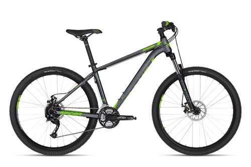 "27,5"" MTB Kellys Spider 10 Green 2018 24 Gang Shimano, Lock Out Gabel"